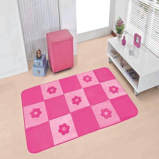 Passadeira-Premium-Margaridas-120m-x-074m-Pink-Guga-Tapetes