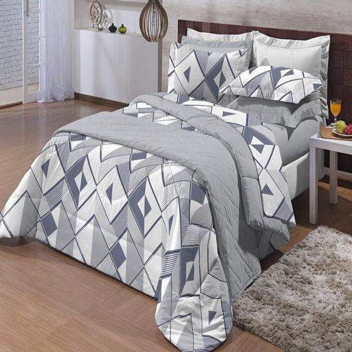 Jogo-de-Cama-King-100--Algodao-200-Fios-Affetto-Andrew-Textil-Lar-4-pecas