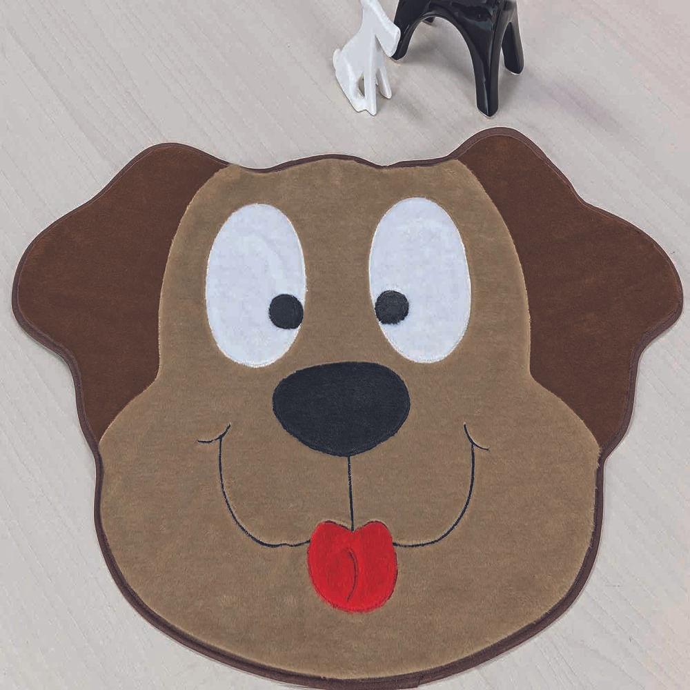 Tapete Big Premium Cachorro Feliz 1,18m x 0,78m Castor Guga Tapetes